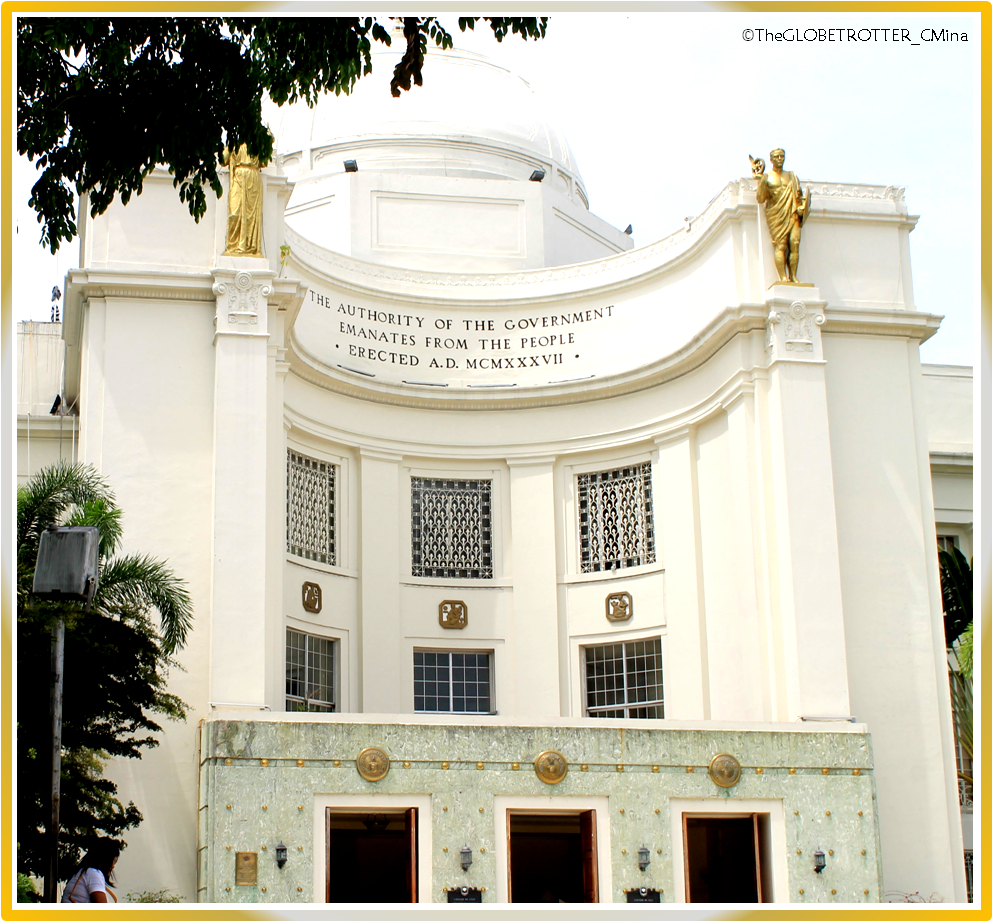 The facade of the Cebu Provincial Capitol Building.