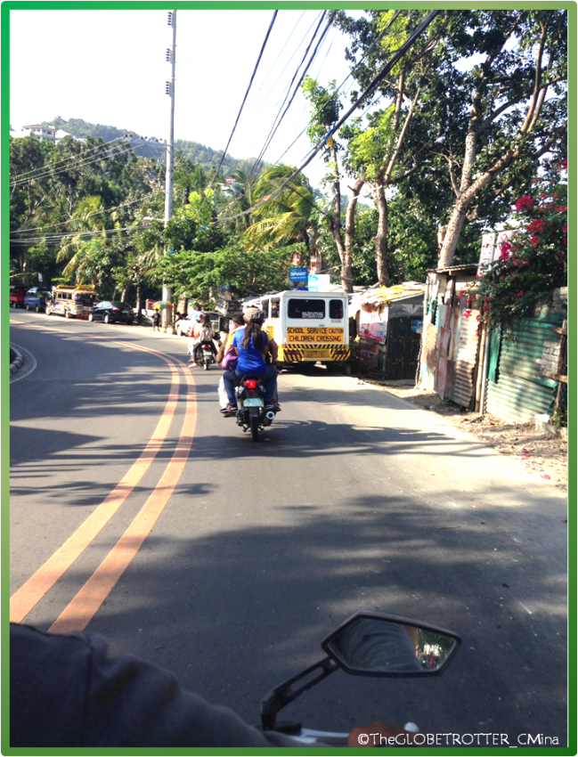 RIDING A MOTORCYCLE (habal-habal GOING TO MT. VIEW