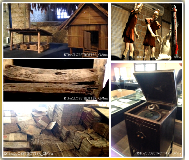 Some of the Artifacts and exhibits inside the Museo Sugbo.