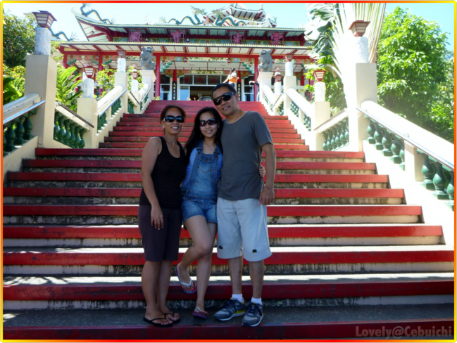 My parents and I in Cebu Taoist Temple