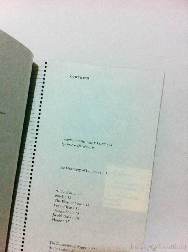 Inside the book.