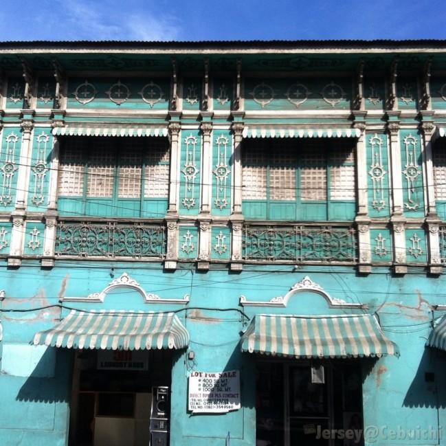 The Mercado Mansion.