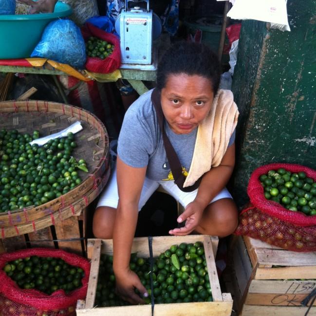 A Vendor selling Lemonsito.