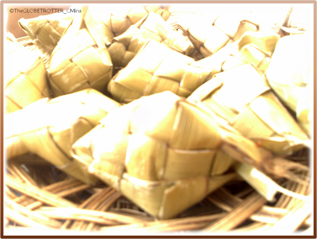 TUSLOB BUWA WOULD NOT BE COMPLETE WITHOUT PUSO (HANGING RICE)