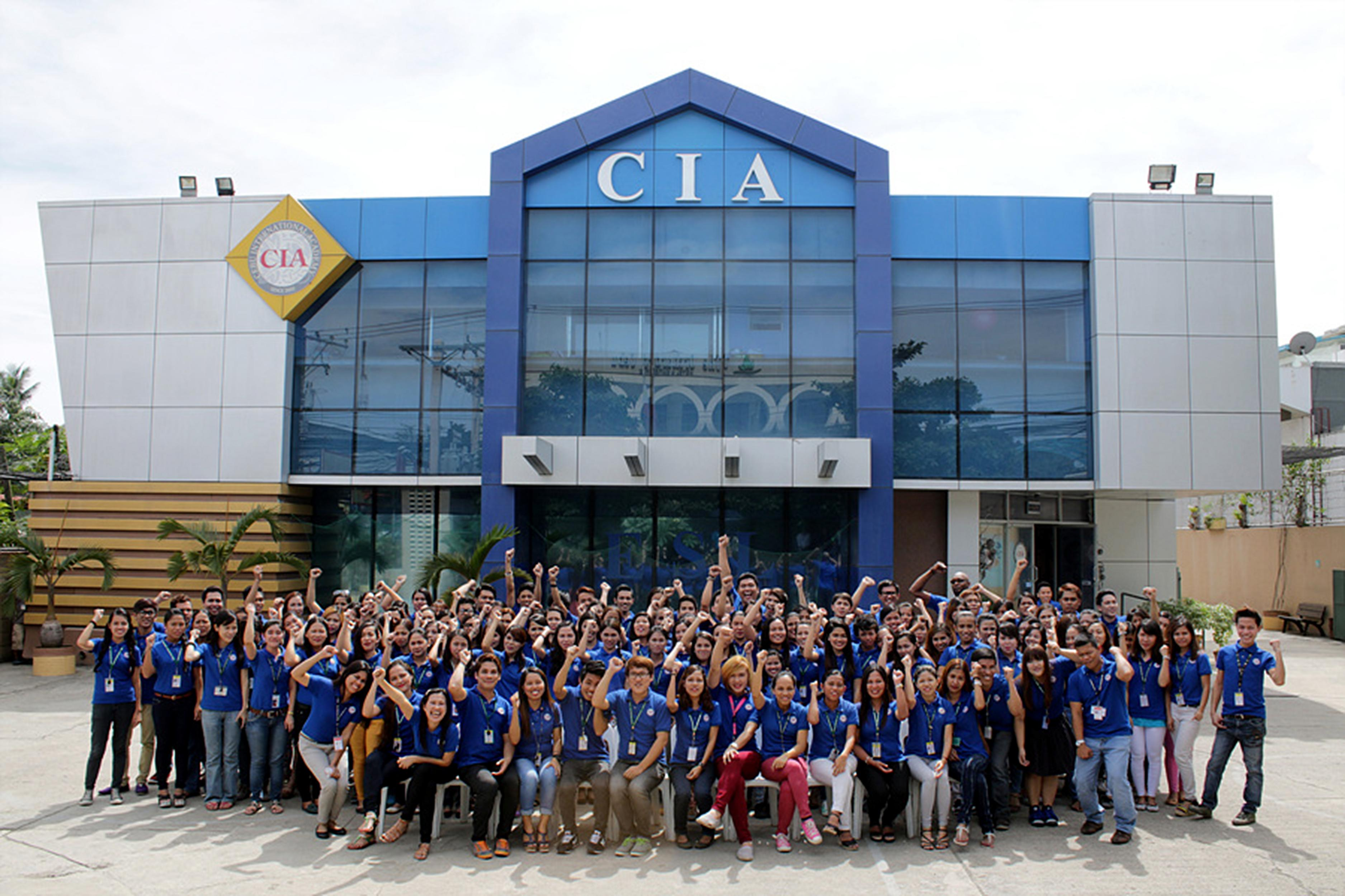 CIA Building with all the teachers