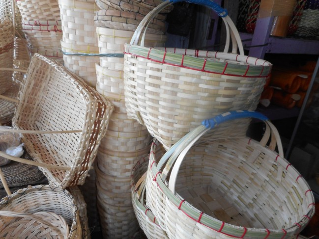Baskets from Bohol.