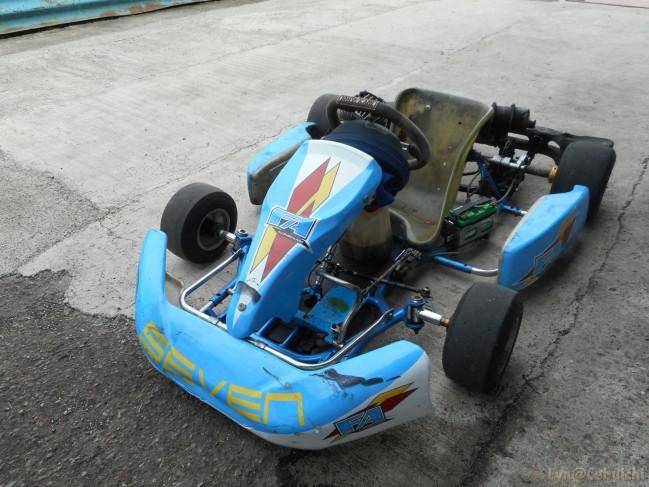 Seven's motor vehicle.