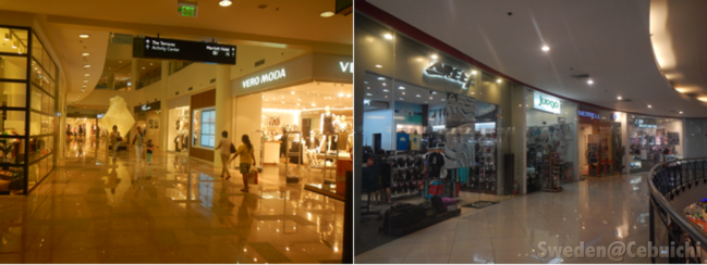Various stores to choose from!
