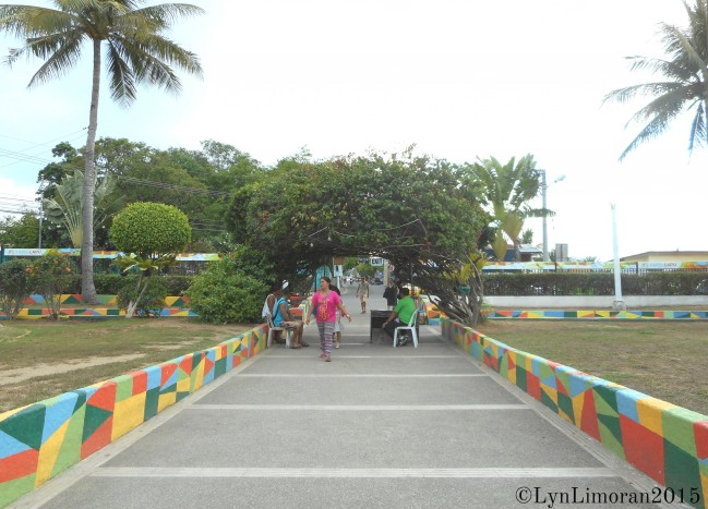 Mactan Shrine gate.