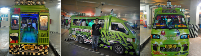 Kuya Omar's Jeepney has got a cool personalized look!