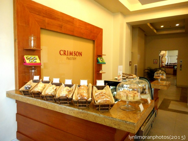 Crimson Resort and Spa's own pastry shop.