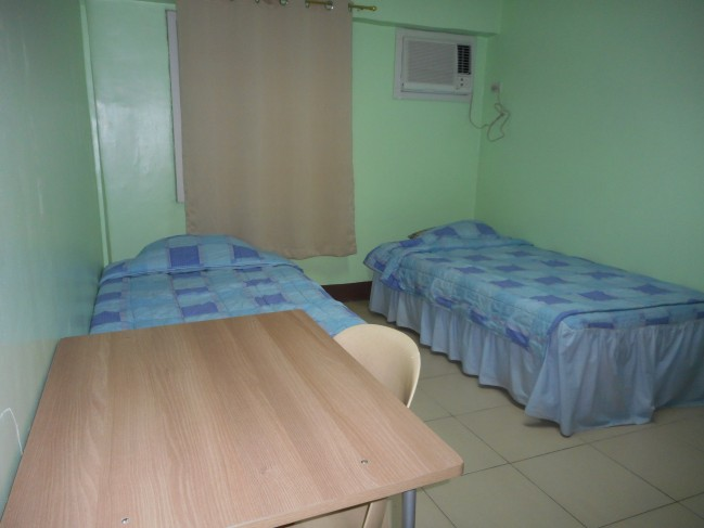 Two student bedroom.