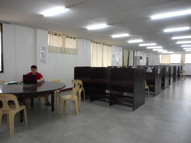 Self-study room.