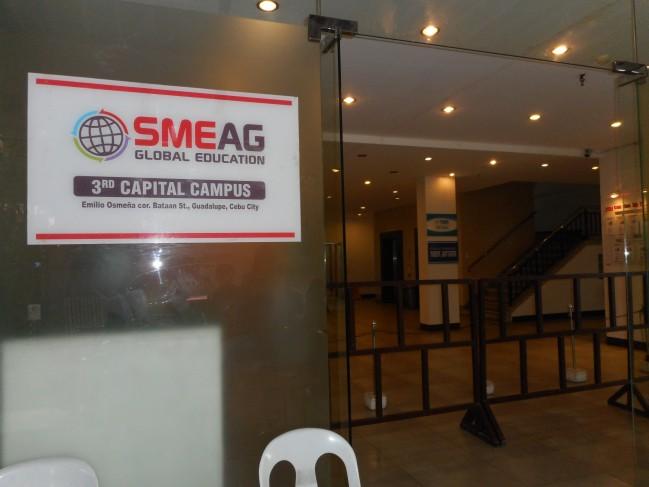 SMEAG Entrance.
