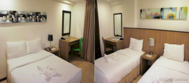 The two types of rooms suited for the 3D Academy student(s).