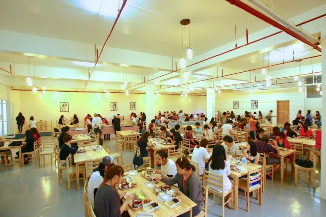 写真:SMEAGキャピタル 食堂