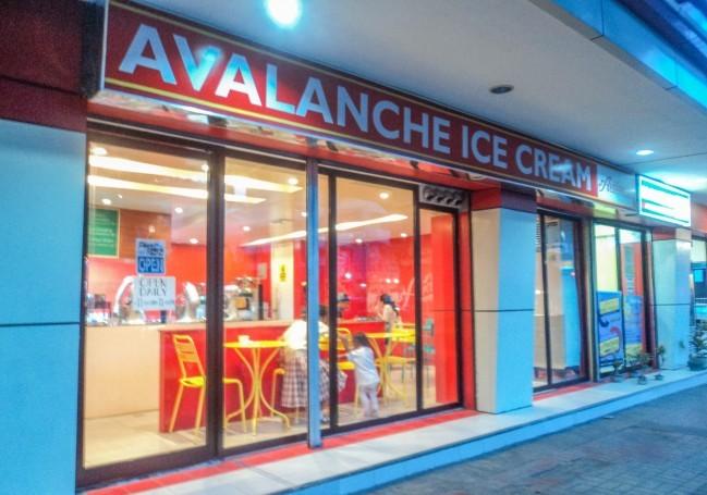 ビサヤンで最初にできた液体窒素アイスクリーム屋さんです