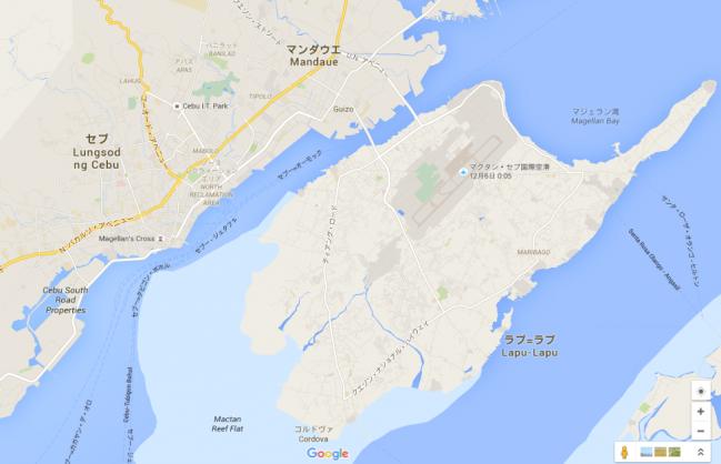 フィリピン・セブ島中心部(メトロセブ&マクタン島)