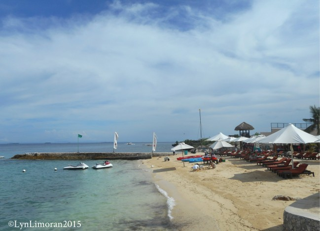 こちらもビーチの写真