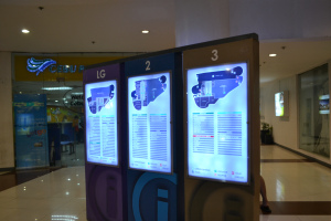Robinsons' Mall Directory  at the upper ground floor