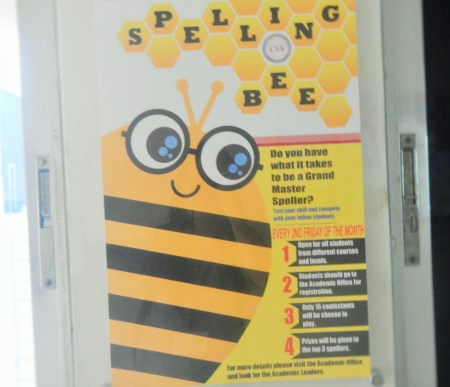 Bulletin on CIA's Spelling Bee