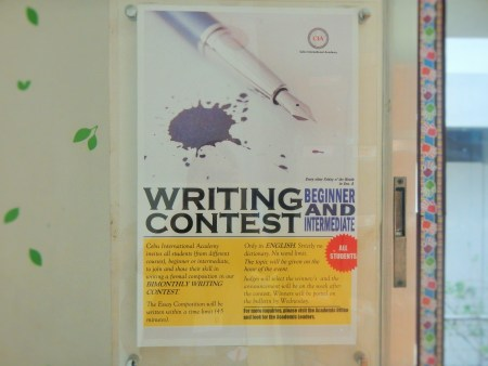 Bulletin on CIA's Writing Contest