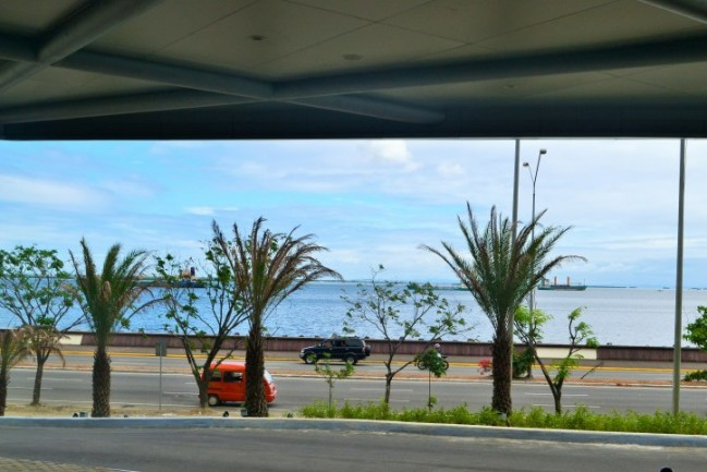 Get this view at the Seaview Wing's entrance of the mall.