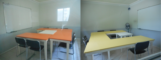 More group classrooms! (Photo credits: Lyn Limoran)