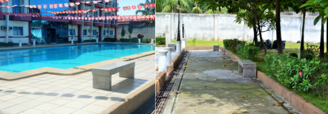 Unwind after all that hard work either by taking a splash in the pool or by just hanging out with nature. As for leisure time, the dormitory grounds and of course, the 20-meter pool are not far away.