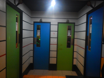 地下階の部屋