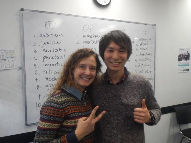 シドニーでお世話になった先生のMarina、イタリア南部の出身です。